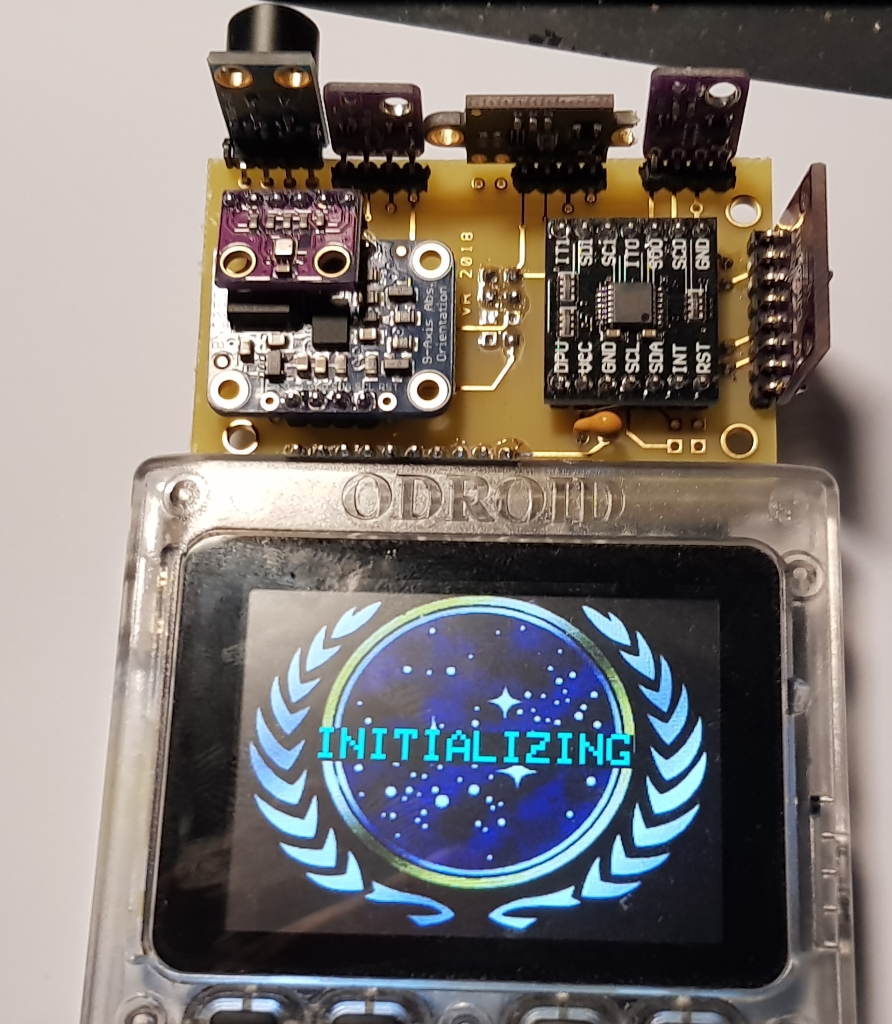 Odroid Go Tricorder Project Reaches Custom Pcb Phase Blaze Of Thought Circuit Board Cost